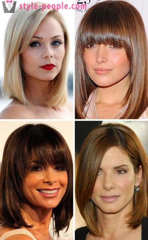 Potongan Rambut Wanita Bob Jenis Penerangan Pemilihan Bentuk Muka